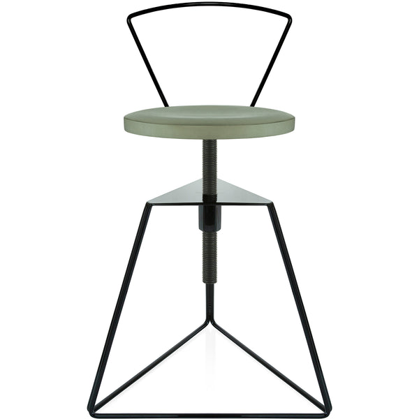 The Camp Stool With Backrest - Aspen