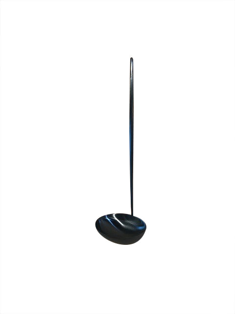 Moon Soup Ladle - Brushed Black