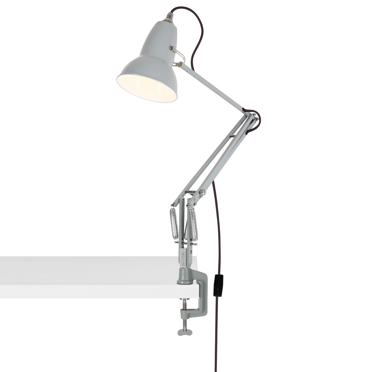 Anglepoise Original 1227 Desk Lamp with Clamp Dove Grey