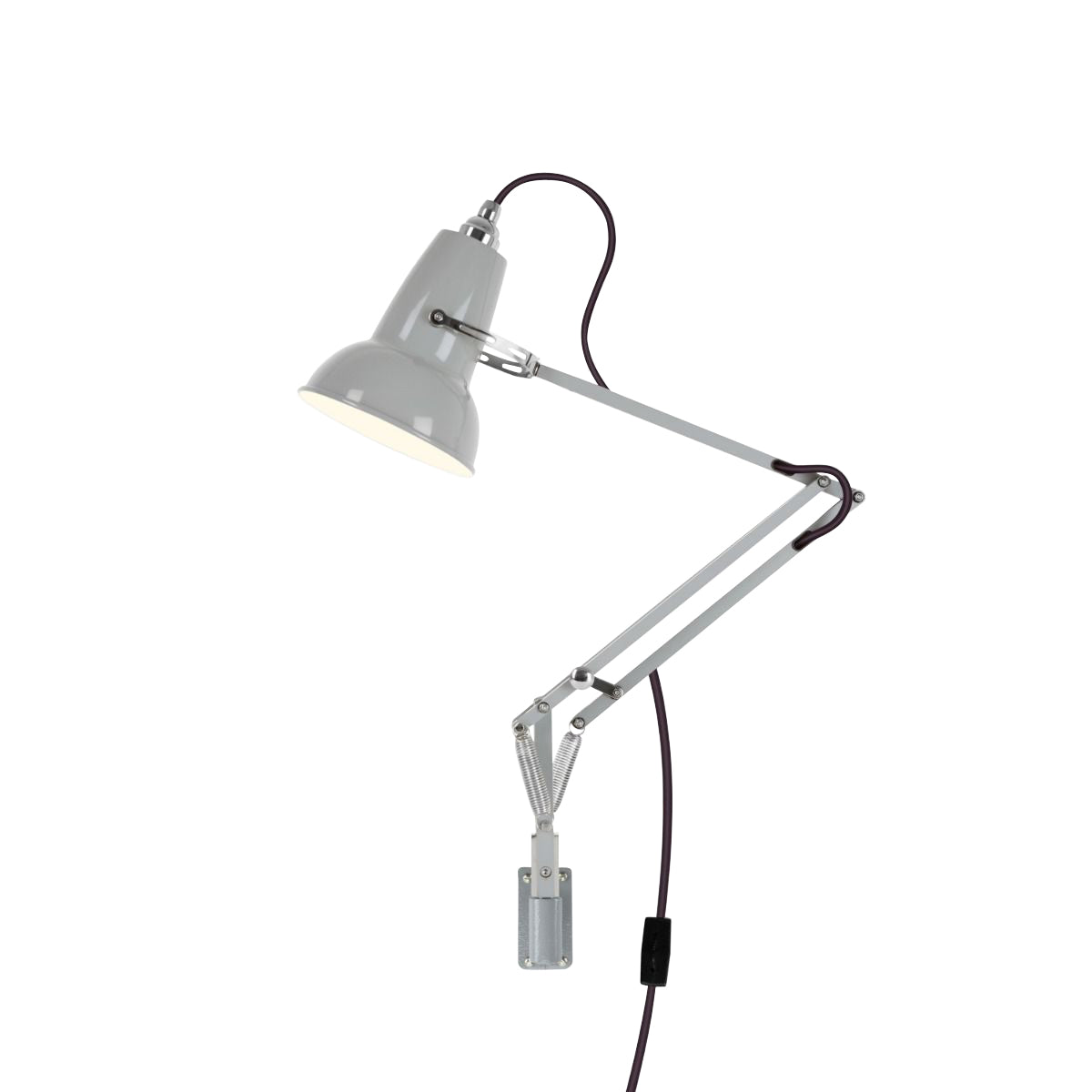 Anglepoise Original 1227 Mini Wall Mounted Lamp Dove Gray