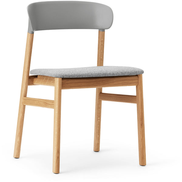Herit Chair - Oak Upholstered