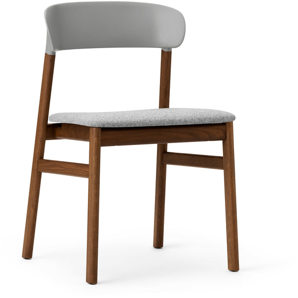 Herit Chair - Smoked Oak Upholstered