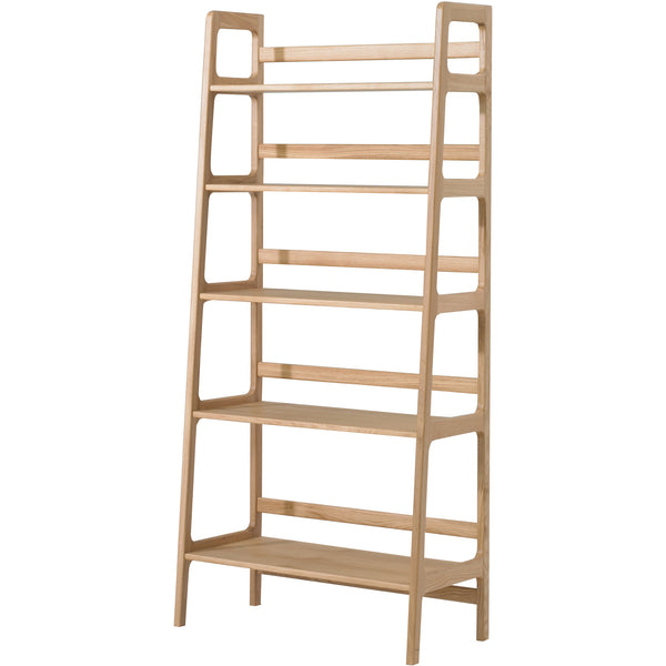 Agnes Tall Shelving Unit - Oak