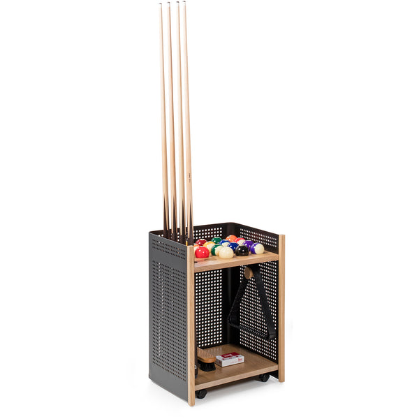 Diagonal Pool Table Accessories - Floor Cue Rack