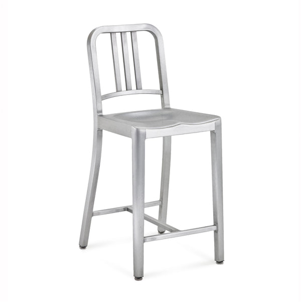 Emeco- 1006 Navy Counter Stool