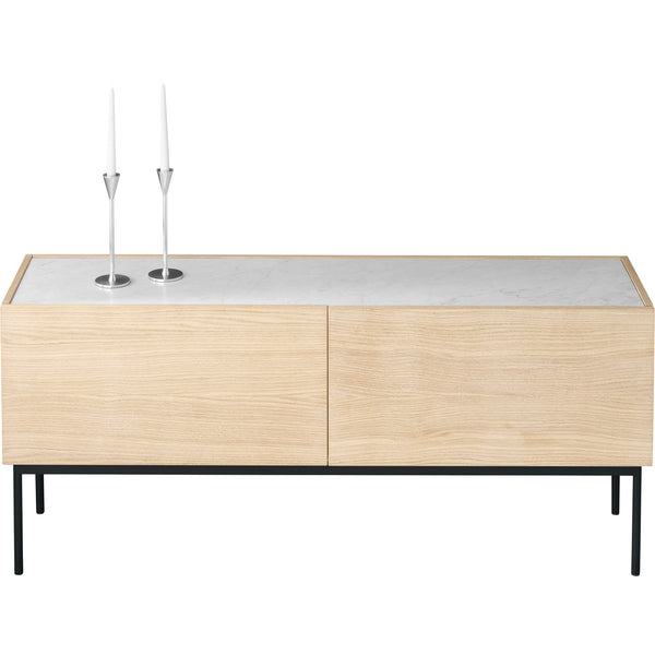 LUC 160 Sideboard With Drawers - Marble Top