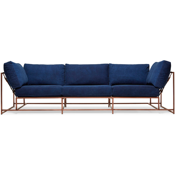 Inheritance Sofa - Indigo Canvas