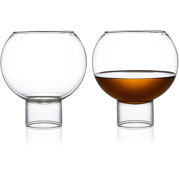 Tulip Low Glass - Set of 2