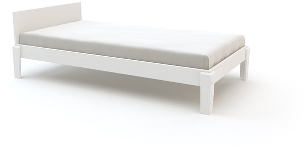 Perch Twin Lower Bed - White