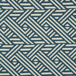Teal Pampas Fabric