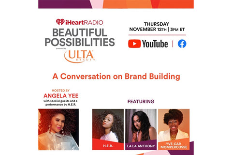 Newsletter: Today at 3pm meet H.E.R, La La, Angela Yee and Yve-Car!