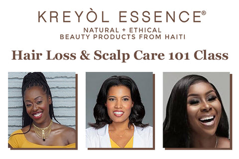 Power Hour CEO Talks - Hair Loss & Scalp Care 101 Class