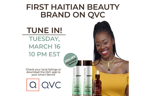 Newsletter: First Haitian Beauty Brand on QVC