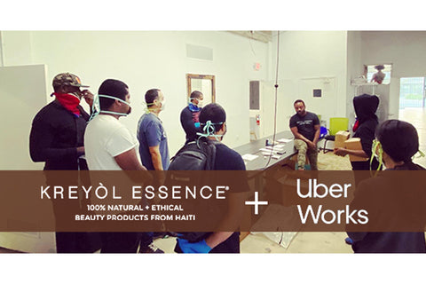 UBER & KREYOL ESSENCE PARTNER TO CREATE WORK IN MIAMI