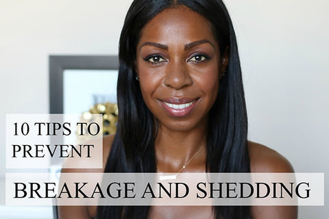 10 Tips To Prevent Hair Breakage
