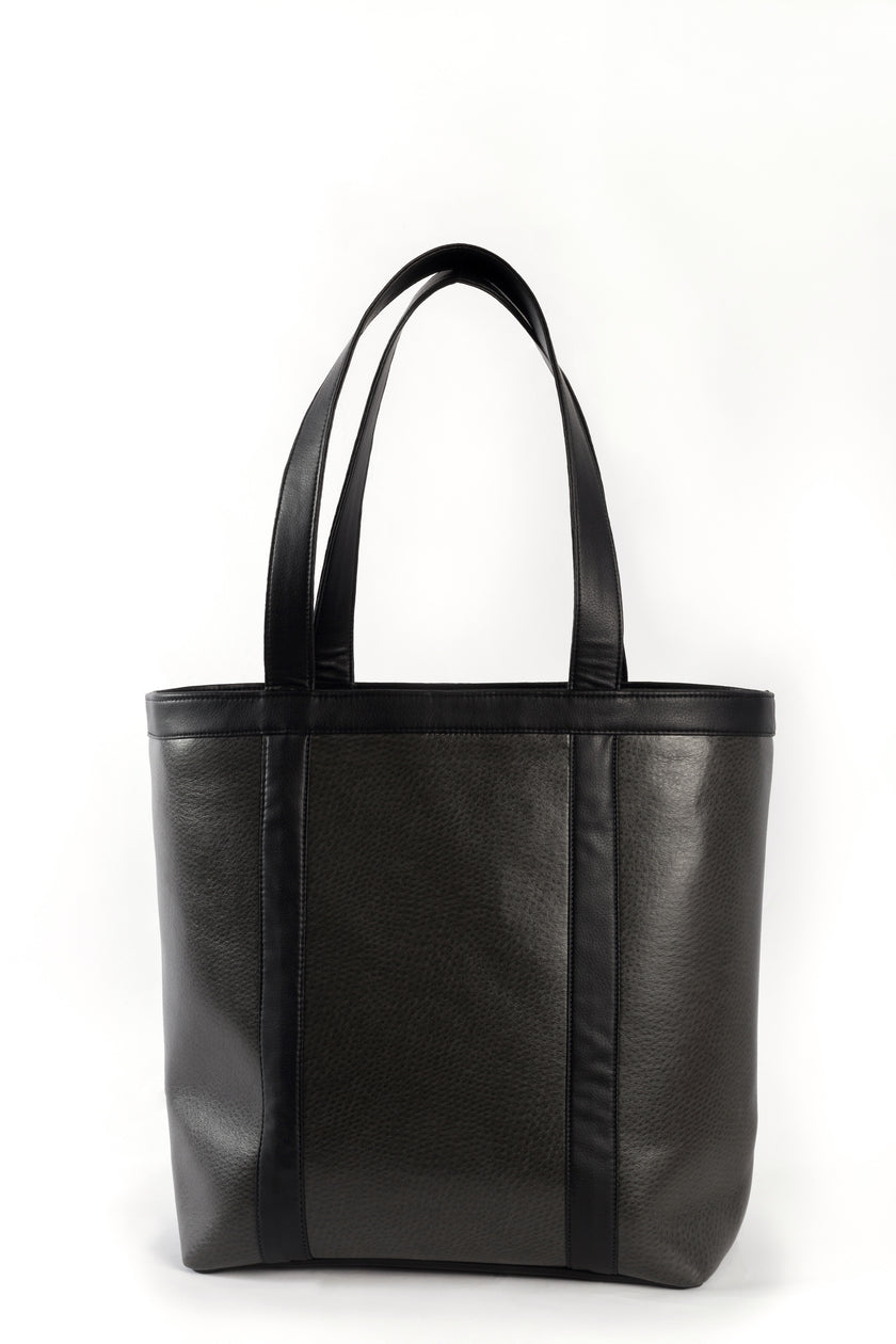 Vegan leather Uccello tote