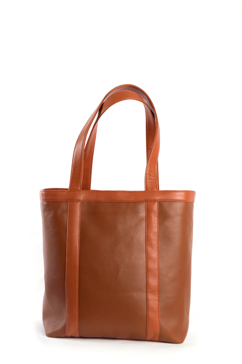 Vegan Leather Whiskey tote