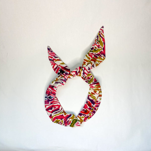 Abstract Patterned Wired Headband