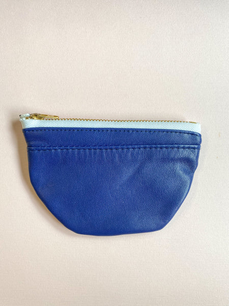Royal Navy Small Half Moon Zippered Pouch