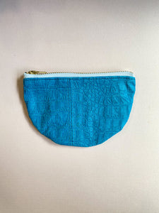 Electric Croc Small Half Moon Zippered Pouch