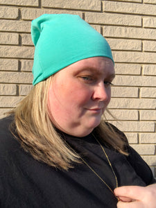 Electric Turquoise Beanie