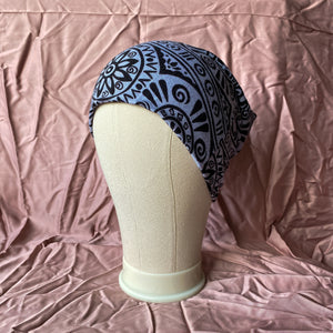 Grey and Black Clockwork Unisex Beanie