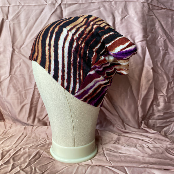 Colourful Stripes Winter Unisex Beanie