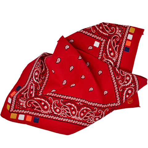 Doctor'd by Squar'd Away - Red Square Bandana