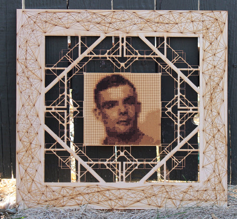 Alan Turing by David Seied