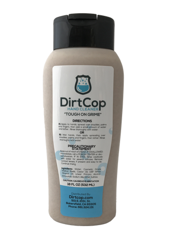 Dirt Cop 18oz Squeeze Bottle