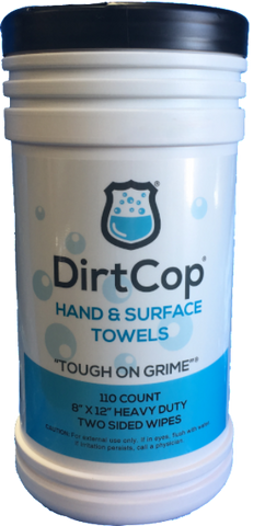 Dirt Cop- 110 Count Hand Wipes