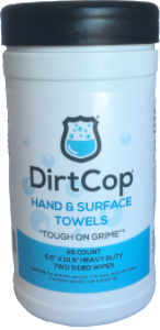 Dirt Cop- 25 Count Hand Wipes