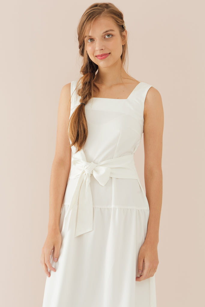 Jeanne Square Neck Dress