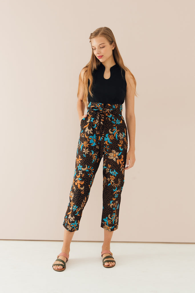 Carissa Mandarin Collar Jumpsuit (Exclusively at CK Tangs Vivo)