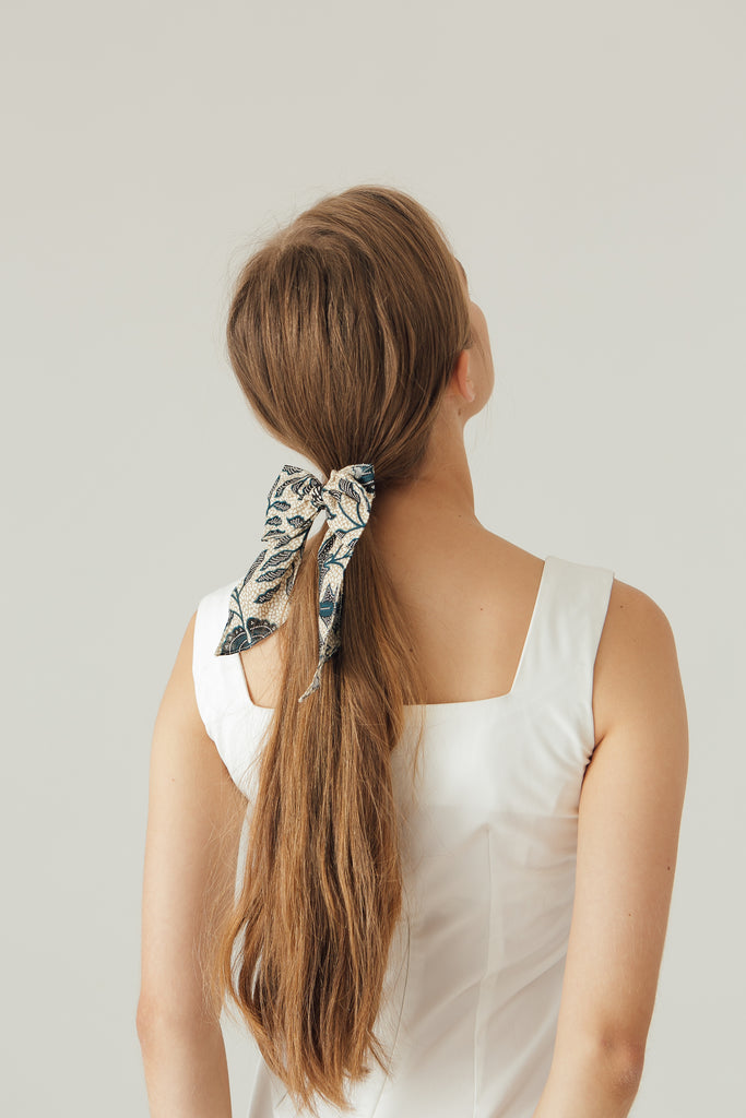 Hair Ribbon in Theo Floral
