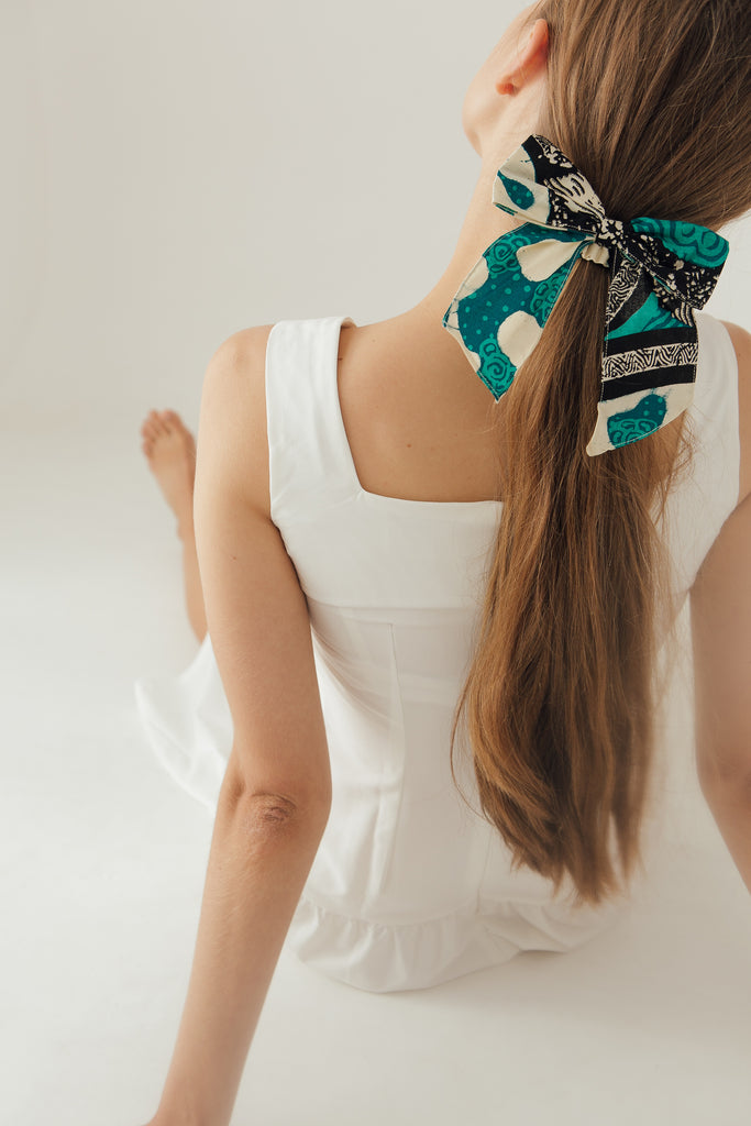 Hair Tie in Teal
