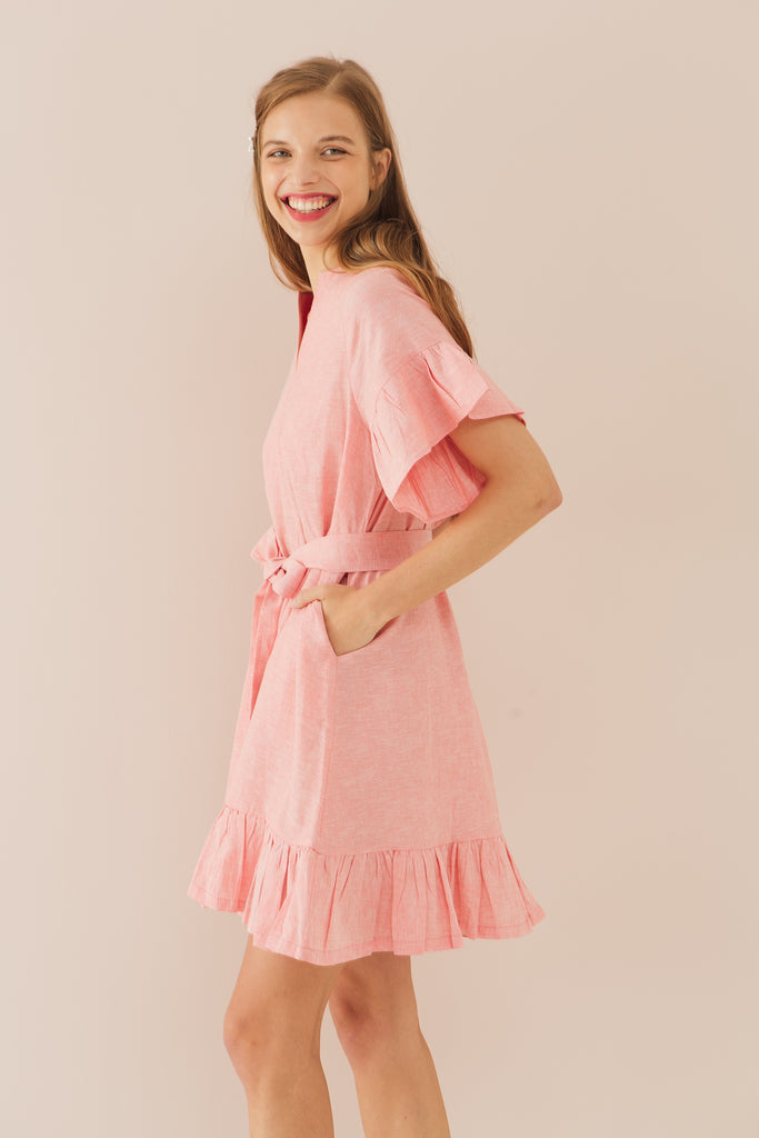 One Fine Day Flare Sleeve Dress