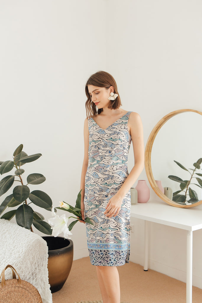 Awan Cami Midi Dress