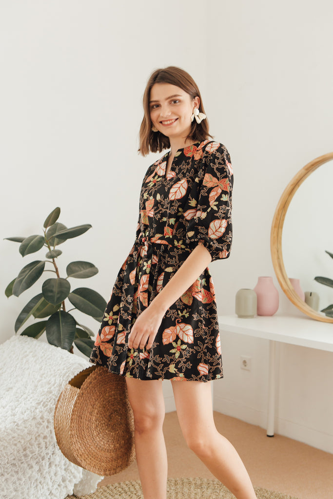 The Dreamer Swing Dress in Batik