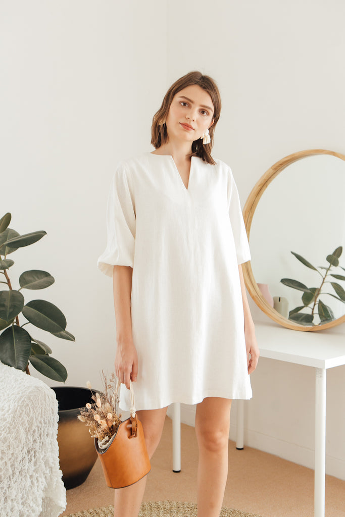 The Dreamer Swing Dress in Linen