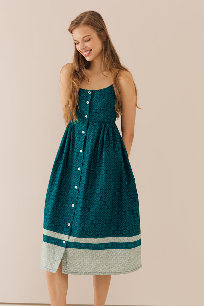 Willow Dress in Teal (Exclusively at CK Tangs Vivo)