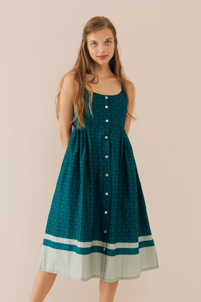 Willow Dress in Teal