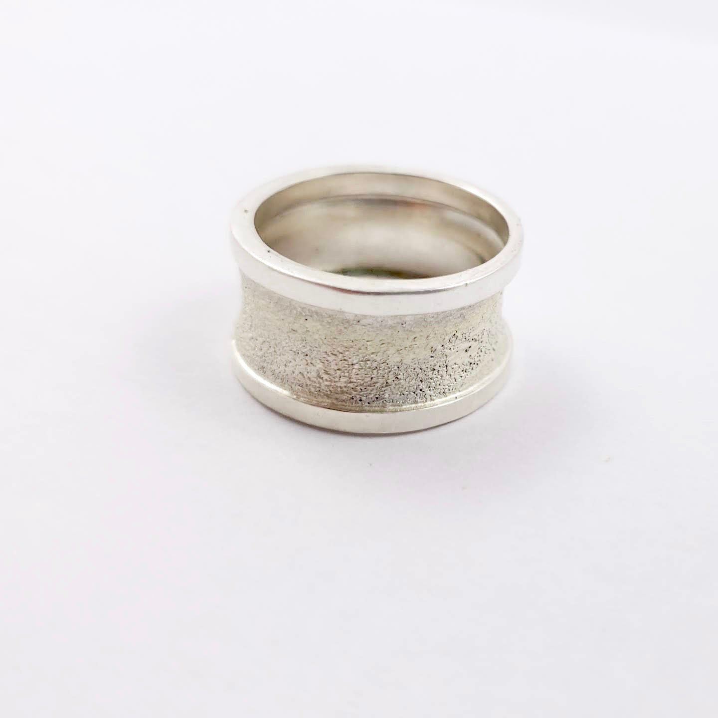 Unisex Sterling Silver Band - Gemspell