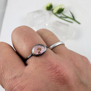 Pale Pink Tourmaline Ring