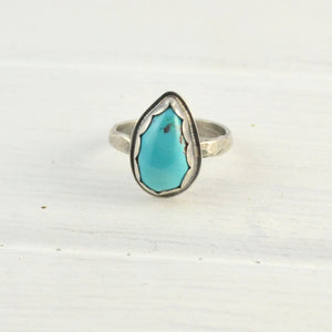 Teardrop Turquoise Ring - Gemspell