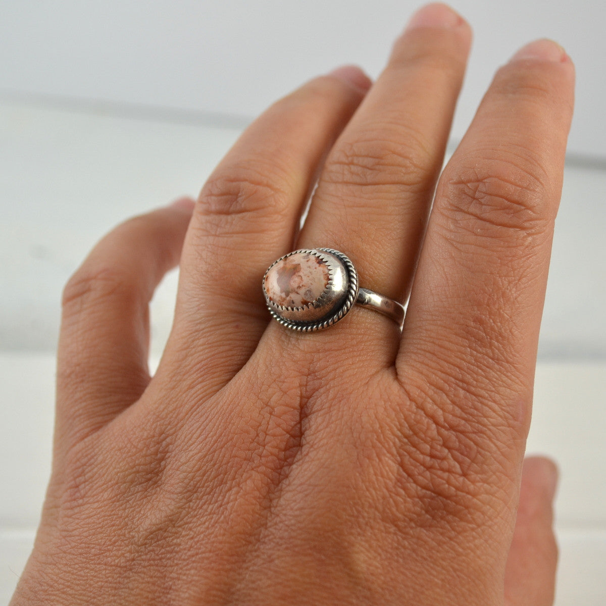 Mexican Opal Ring - Gemspell
