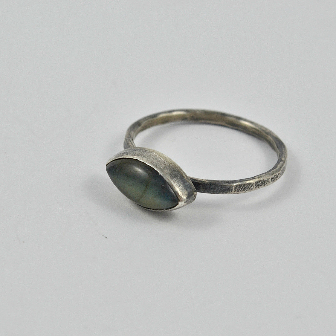 East to West Labradorite Ring - Gemspell