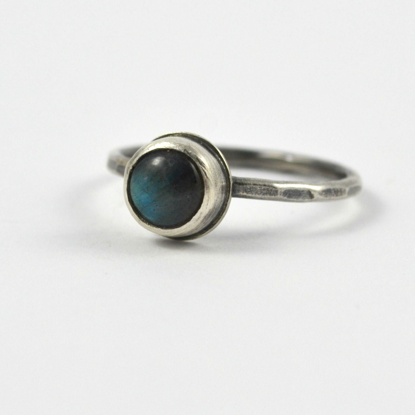 Labradorite Stacking Ring - Gemspell