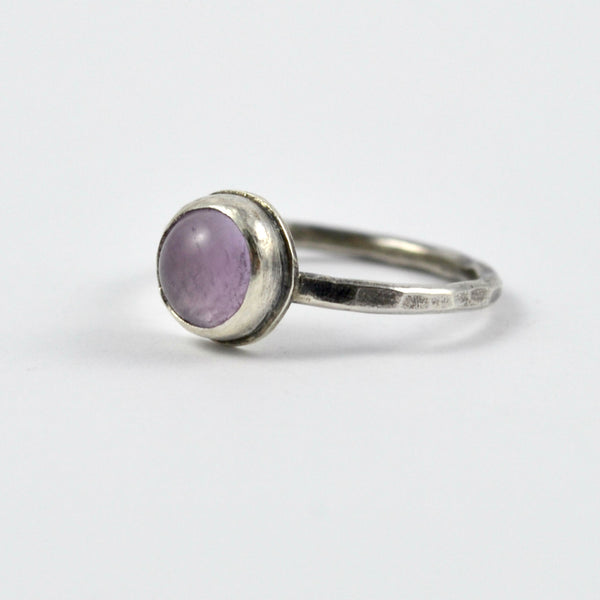 Lavender Amethyst Stacking Ring