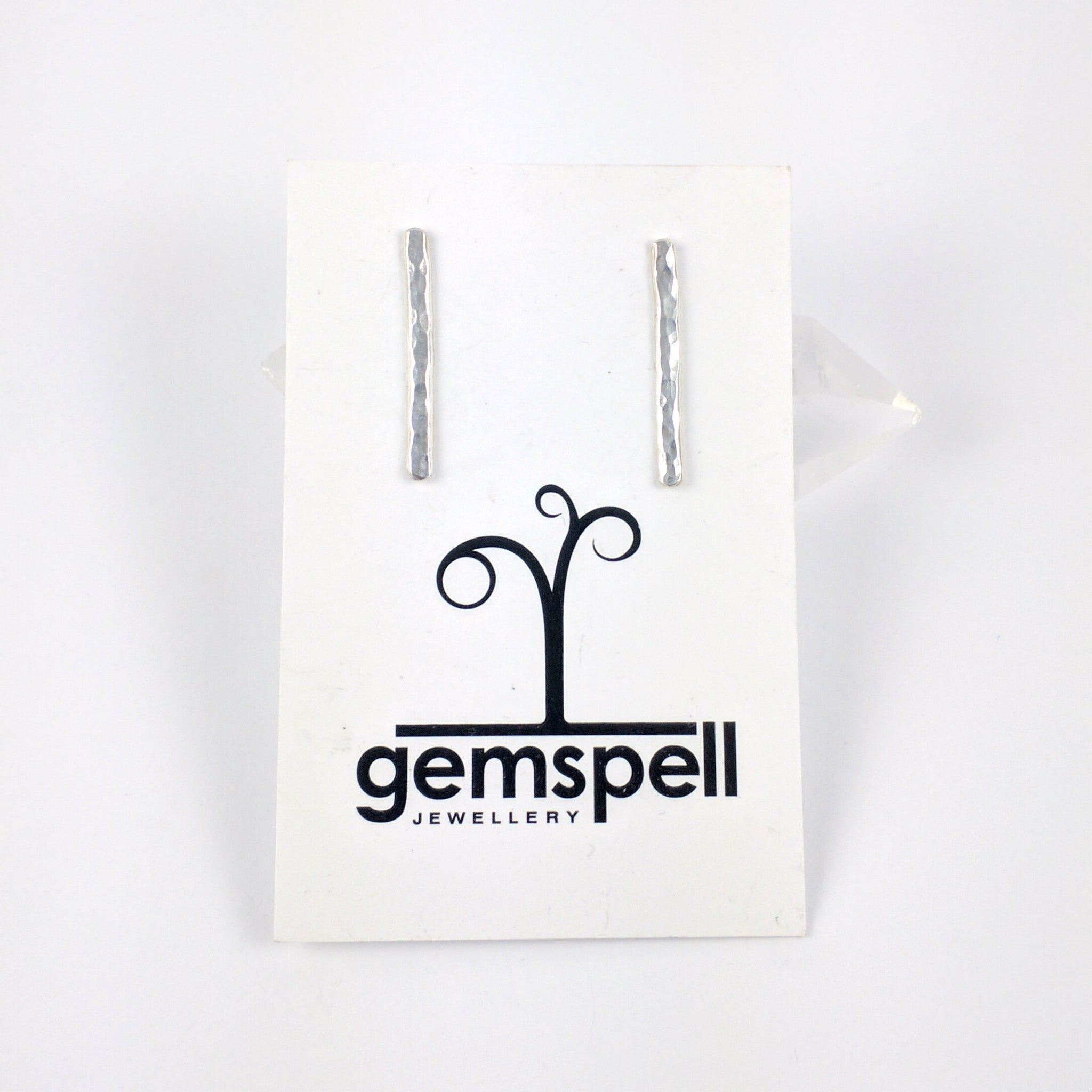 Textured Bar Studs - Gemspell